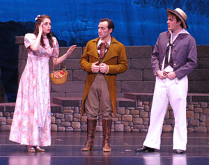 Sarah Caldwell Smith, David Macaluso, and