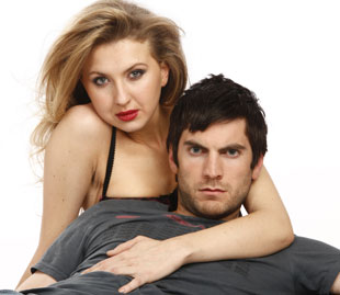 Nina Arianda and Wes Bentley