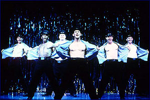 The original Broadway cast of The Full Monty