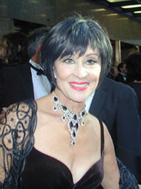 Chita Rivera at the 2002 Tony Awards(Photo: Michael Portantiere)