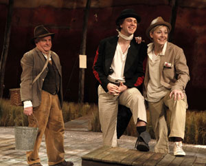 Anthony O'Donnell, Thomas Sadoski, and Juliet Rylance