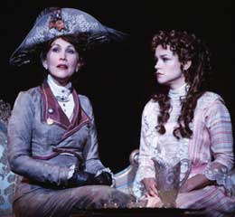 Women on the verge:Randy Graff and Sarah Uriarte Berry in A Little Night Music(Photo: Joan Marcus)