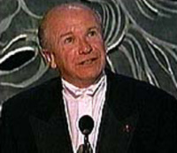 Terrence McNally accepts his very ownTony Award for Master Class(Photo: CBS)