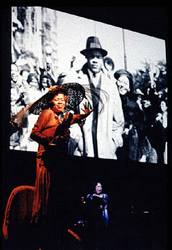 Queen Esther and B.J. Crosby in Harlem Song