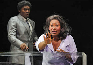 Chaz Lamar Shepherd and Moya Angela in Dreamgirls