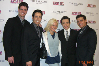 Peter Saide, Jeff Leibow, Holly Madison, Rick Faugno, and Deven May