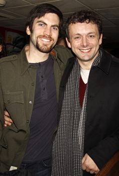 Wes Bentley and Michael Sheen