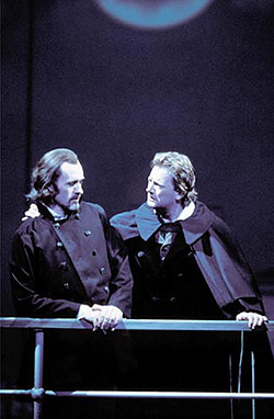 Stephen Dillane and Douglas Henshall inThe Coast of Utopia: Shipwreck(Photo: Ivan Kyncl)