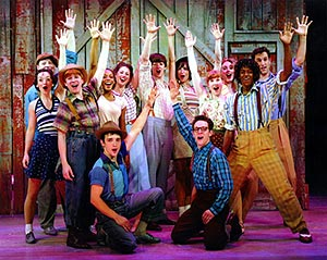 Just a buncha kids, puttin' on a show:The youthful cast of Goodspeed's Babes in Arms(Photo: Diane Sobolewski)