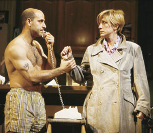 Frankie and Johnny were sweethearts:Stanley Tucci and Edie Falco(Photo: Joan Marcus)