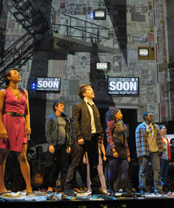 The cast of American Idiot