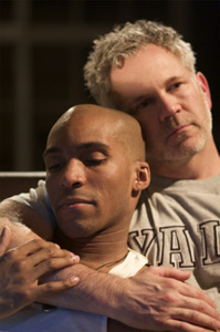 Bjorn DuPaty and Gerald McCullouch in Daddy (© Eduardo Placer)