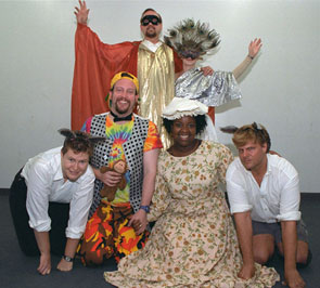 Artemis and the Wild Things present As You Like It(Photo: Anthony Collins)