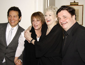 Michael Feinstein, Patti LuPone, Elaine Stritch, and Nathan Lane