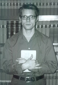 Dan Pintauro as Allen Ginsberg in beat