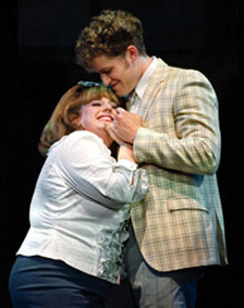 Marissa Jaret Winokur andMatthew Morrison in Hairspray