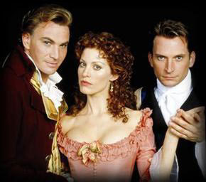 The dashing Douglas with Rachel York and Rex Smithin The Scarlet Pimpernel