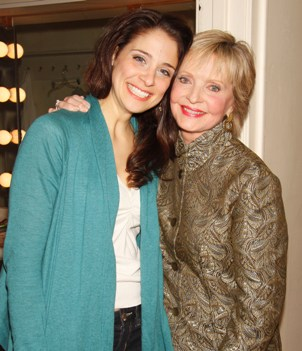 Elena Shaddow and Florence Henderson