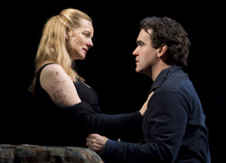 Laura Linney and Brian d'Arcy James