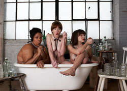 Desiree Burch, Erica Livingston, and Cara Francis