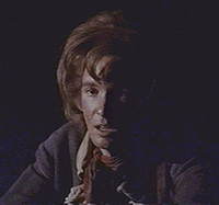"Stephen Nathan as the Courier singing""Momma, Look Sharp"" in the 1776 film"