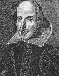 Noted playwright William Shakespeare,author of The Tempest