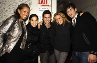 Ugly Betty stars Vanessa Williams, America Ferrera, Daniel Eric Gold, Becki Newton, and Michael Urie