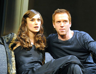 Keira Knightley and Damian Lewis in The Misanthrope