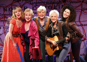 Lauren Kennedy, Sally Mayes, Teri Ralston, Gina Stewart,