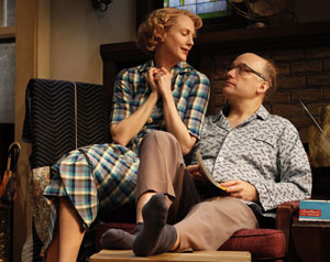 Christina Kirk and Frank Wood in Clybourne Park