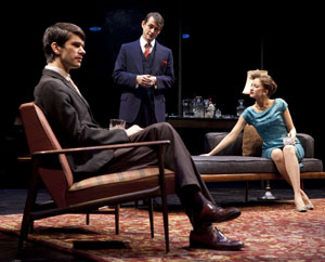 Ben Whishaw, Hugh Dancy, and Andrea Riseborough