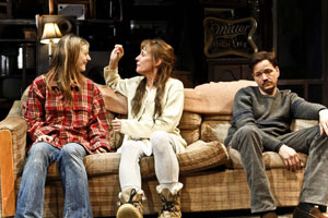 Marin Ireland, Laurie Metcalf, and Frank Whaley