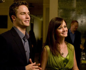 Scott Porter and Alexis Bledel in The Good Guy