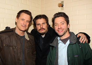 Bill Pullman, James Roday, and Michael Weston
