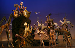 A scene from The Lion King (© Joan Marcus)