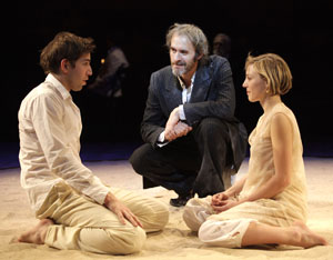 Edward Bennett, Stephen Dillane, and Juliet Rylance