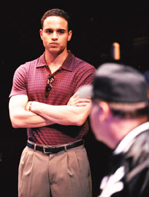 He's no Mike Piazza:Daniel Sunjata in Take Me Out