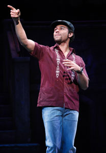 Corbin Bleu in In the Heights