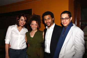 Janet Dacal, Marcy Harriell, Corbin Bleu, and David Del Rio