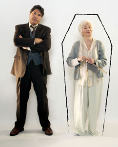 Marco Barricelli and Olympia Dukakis in Vigil