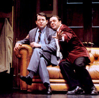 The original Leo and Max:Matthew Broderick and Nathan Lanein The Producers on Broadway(Photo: Paul Kolnik)