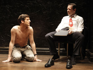 Michael Urie and Thomas Jay Ryan in The Temperamentals