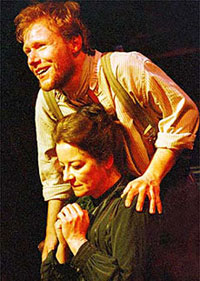 Jochum Ten Haaf and Clare Higgins inVincent in Brixton at the Royal National Theatre(Photo: John Haynes)