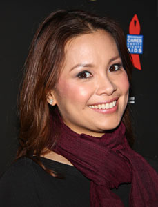 Lea Salonga at the afterparty