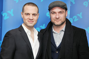 Jordan Roth and Liev Schreiber