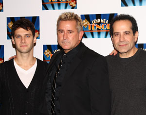 Justin Bartha, Anthony LaPaglia, and Tony Shalhoub