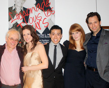 Austin Pendleton, Eleanor Handley, Anton Briones,