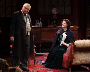 Brian Murray and Melissa Errico in Candida