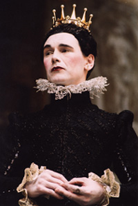 Mark Rylance as Olivia in Twelfth Night