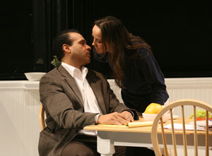 Chris McKinney and Birgit Huppuch in Neighbors